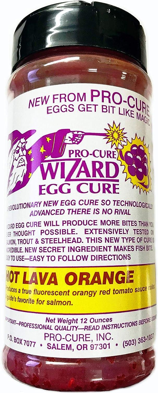 Mesa Mall Pro-Cure Wizard Time sale Egg Cure 12 Hot Orange Ounce Lava