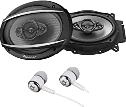 """Pioneer TS-A6960F A Series 6"""" X 9"""" 450 Watts Max 4-Way Car Speakers Pair with.."""