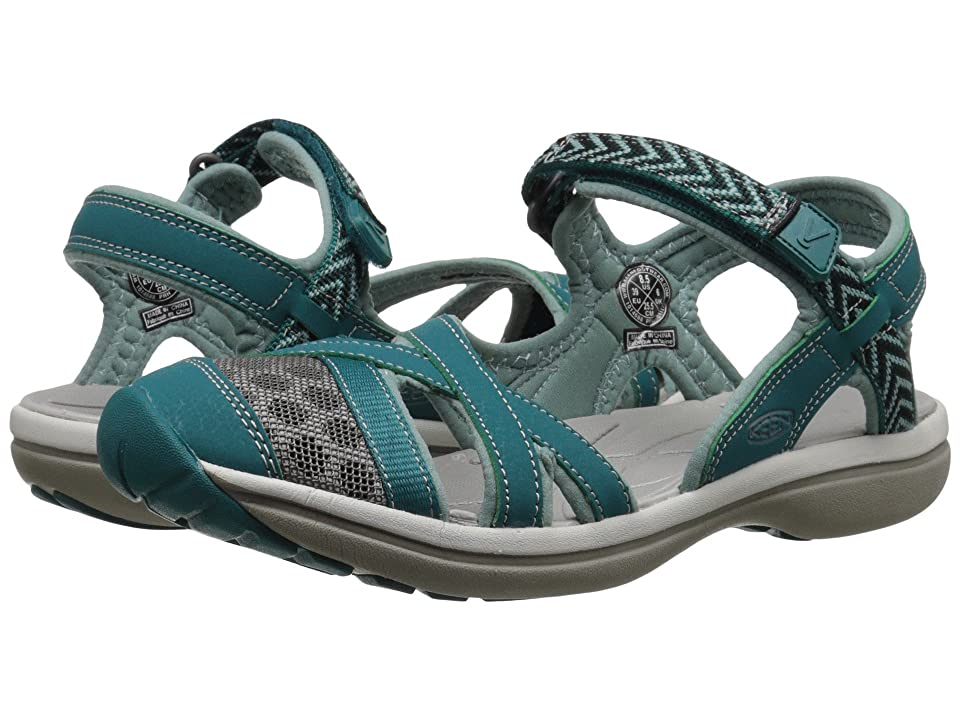 Keen Sage Ankle (Everglade/Mineral Blue) Women