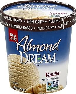 Almond Dream Non-Dairy Dessert, Vanilla, 16 oz (Frozen)