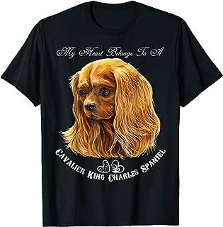 Cavalier King Charles Spaniel Ruby T-Shirt
