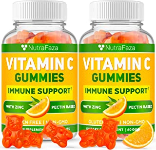 (2 Pack) Vitаmin С Gummies with Zіnc - Maximum Potency Immune Support Gummies for Adults and Kids - Vegetarian - Gummy Alt...