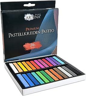 comprar comparacion Artina Pasteo Master Series Soft Pastel - Tiza Pastel - Calidad de Estudio - Set de 24 Colores con Caja