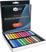 Artina oljebaserade mjuka pastelluppsättningar – fina pastellpinnar kritor i studiokvalitet – mästarserie för konst 24 Set
