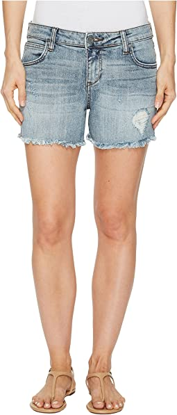 KUT from the Kloth - Gidget Fray Shorts in Ladylike