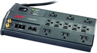 APC Surge Protector with Phone, Network Ethernet and Coaxial Protection, P11VNT3, 3020 Joules, 11 Outlet Surge Protector Power Strip