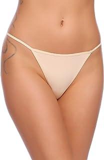 d82ff795c0e Ekouaer Soft Breathable Brief Panties Cotton Underwear for Women 3 Pack