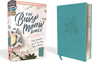 NIV, The Busy Mom's Bible, Leathersoft, Teal, Red Letter, Comfort Print: Daily Inspiration Even If You Only Have One Minute PDF