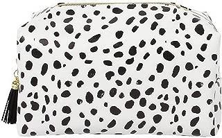 Dalmatian Print Make Up Bag (6.7 x 8.7 x 4.3 in) (Black/White)