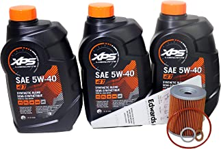 Can-Am XPS 4-Stroke Semi Synthetic Oil Change Kit for Can-Am Defender HD10 XT 2016-2019