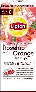 リプトン ヘルシースタイル ローズヒップ・オレンジティー ティーバッグ 10袋×6個
