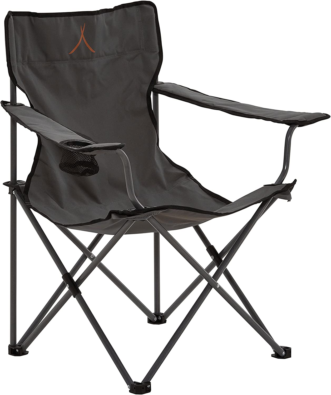 (Grey)  Grand Canyon Director  folding camping chair, steel, different colours