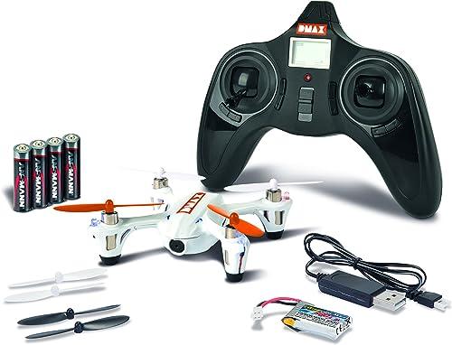 Carson 500507097 - Luftfahrt, Dmax X4 Spy Quadcopter 100% RTF