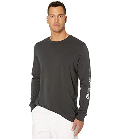 RVCA Anp Long Sleeve T-Shirt (Pirate Black) Men
