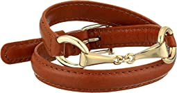 "Saddle 16"" Leather Wrap Bracelet"