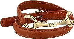 """Saddle 16"""" Leather Wrap Bracelet"""