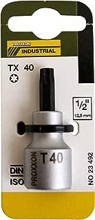 Proxxon 23 494 Vaso y Punta Torx TX 1//2 Longitud Total 55mm Tama/ño TX 50