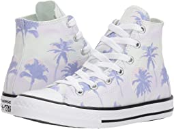 Converse Kids - Chuck Taylor All Star Palm Trees Hi (Little Kid/Big Kid)