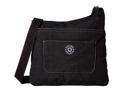 Kipling Delilah Crossbody (Black) Cross Body Handbags
