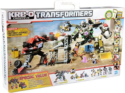 marca de lujo Hasbro A1266 Kre-O Transformers - Set de de de construcción para Asalto de autobús  Ahorre hasta un 70% de descuento.