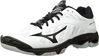 Mizuno Wave Lightning Z4 Womens White-Black 9 White/Black