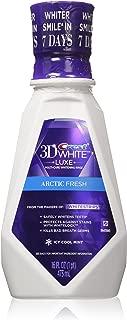 Crest 3D Arctic Fresh Multi-Care Whitening Rinse, White 16 fl oz (Pack of 2)