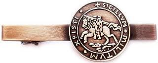 knights templar tie clip