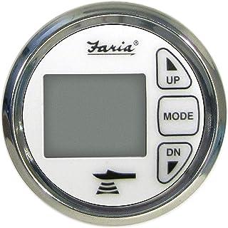 Faria Instruments 13852 CHES SS WHITE STYLE DEPTH SOUN DIGITAL DEPTH SOUNDER