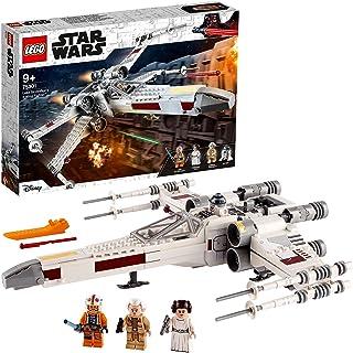 LEGO 75301 Star Wars Luke Skywalker's X-Wing Fighter Byggsats med Rymdskepp och Prinsessan Leia