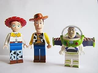 LEGO Woody, Jessie & Buzz Lightyear Minifigures Toy Story