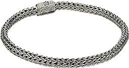 Classic Chain 5mm Bracelet with Diamonds