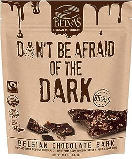 Belvas Belgian Thins Organic Dark Chocolate, Coco Sugar Sweetened 10.6 oz