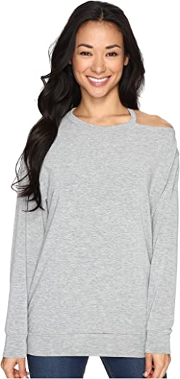 Culture Phit - Tatum Open Shoulder Long Sleeve Top