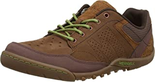 Sector Umber Mens Leather Sneakers/Shoes - Brown