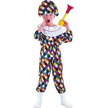 FIORI PAOLO – Disfraz para Niño Arlequín L (7-9 anni) multicolor ...