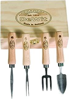 DeWit Bonsai Tool Kit in Wooden Box