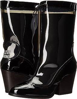 Chunky Heeled Rain Boot