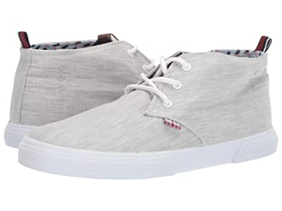 Ben Sherman Bradford Chukka (Grey Linen) Men