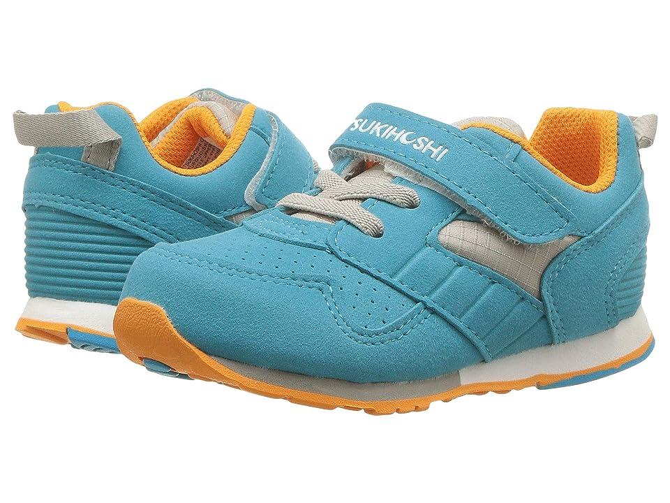 Tsukihoshi Kids Racer (Toddler/Little Kid) (Turquoise/Orange) Kids Shoes