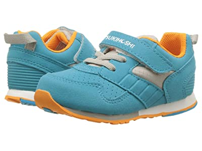 Tsukihoshi Kids Racer (Toddler/Little Kid) (Turquoise/Orange) Kids Shoes