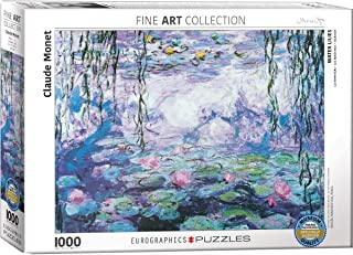 monet water lilies jigsaw puzzle