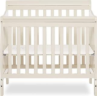 Dream On Me Aden Convertible 4-in-1 Mini Crib, French White