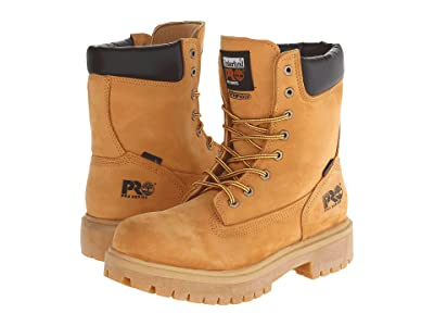 Timberland PRO Direct Attach Waterproof 8 Soft Toe (Wheat Nubuck Leather) Men
