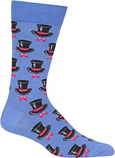 Men's Top Hat and Bow Tie Socks