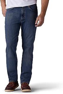 Lee Uniforms Men's Premium Flex Denim Classic Fit Jeans, Daredevil, 38W x 32L