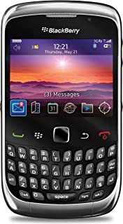 Blackberry Curve 3G 9300 Unlocked GSM Phone with QWERTY Keyboard, Touch-Sensitive Optical Trackpad, 2MP Camera, Video, GPS, Wi-Fi, Bluetooth, MP3/MP4 Player and microSD Slot - Graphite Gray