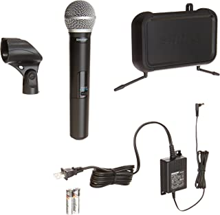 Shure PGXD24/PG58-X8 Digital Handheld Wireless System with PG58 Vocal Microphone