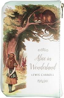 Alice im Wunderland Clutch Handtasche für Literaturliebhaber - Kleine Handtasche Damen von Well Read - Unterarmtasche