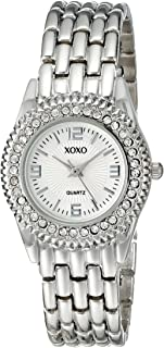 XOXO Womens Quartz Watch, Analog Display and Stainless Steel Strap - XO5247