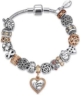 MESTIGE Women Crystal Tender-hearted Bracelet with Swarovski Crystals